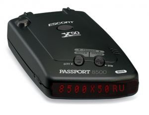 антирадар (радар-детектор) Escort Passport 8500x50 RU red